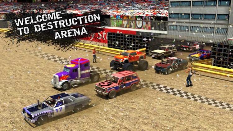 Xtreme Demolition Derby Racing Car Crash Simulator screenshot-3
