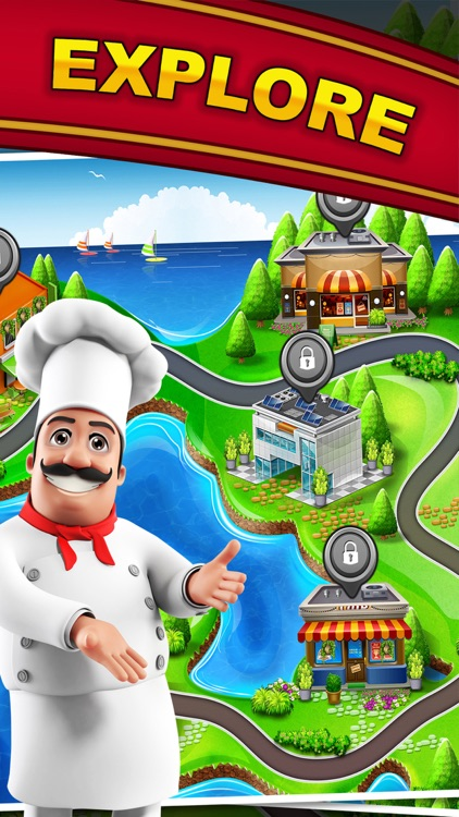 Cooking Scramble: World Master Chef & Food Fever screenshot-4