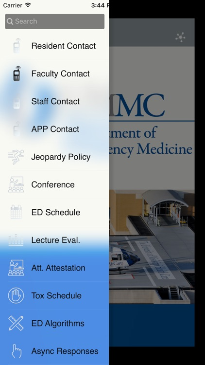 Department of Emergency Medicine at UMMC