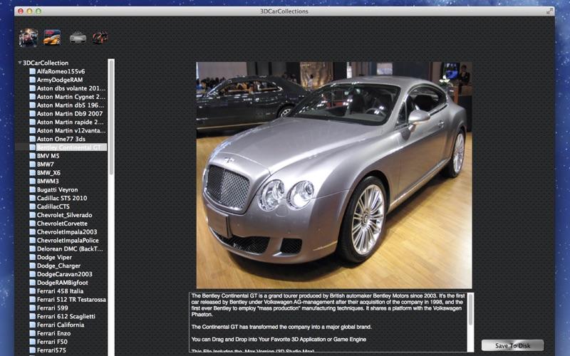 3D Car Collections screenshot 3