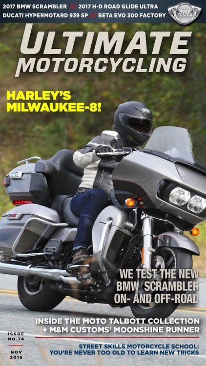 Ultimate MotorCycle Magazine screenshot-1
