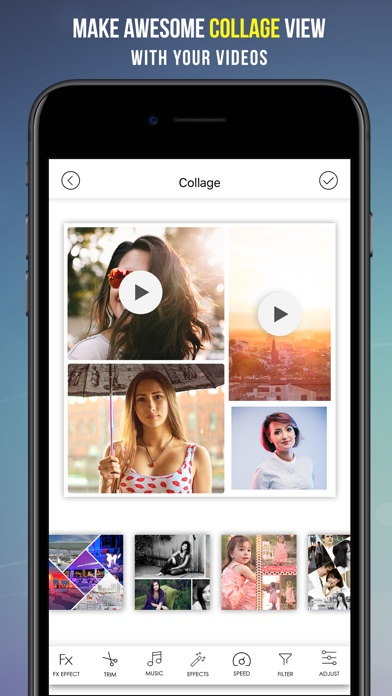 Video Editor for iMovie & Youtube With Free Music app image
