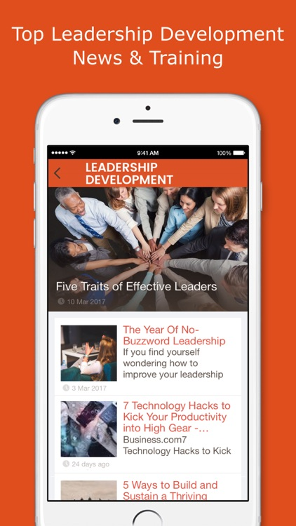 Leadership Development: Skills & Training App.
