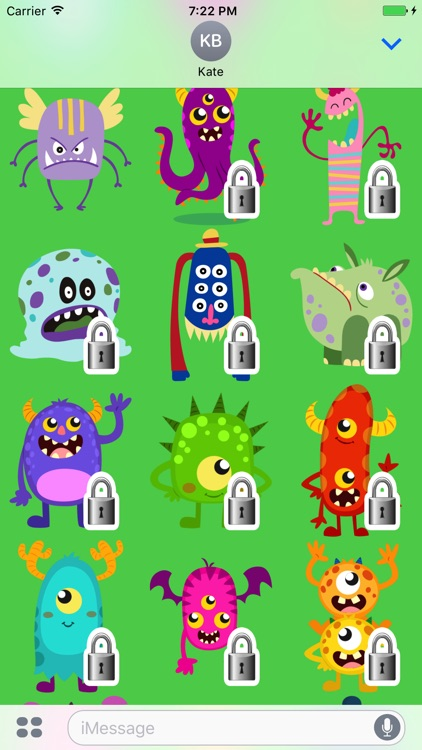 Monsters Sticker Pack