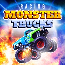 Racing Monster Trucks - Drag Racing Game