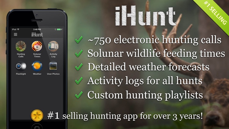 iHunt By Ruger Hunting Calls screenshot-0