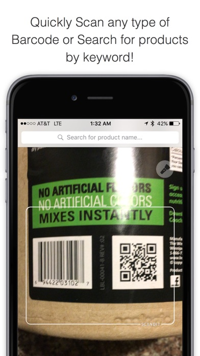 Bakodo - Barcode Scanner and QR Bar Code Readerのおすすめ画像1