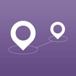 Ícone do app Pin Points - Flight, Driving Distance Calculator