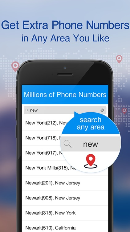 Telos Second Phone Number Unlimited Texting & Call app image