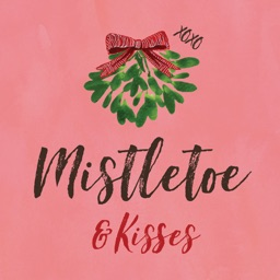Mistletoe & Kisses for iMessage Stickers
