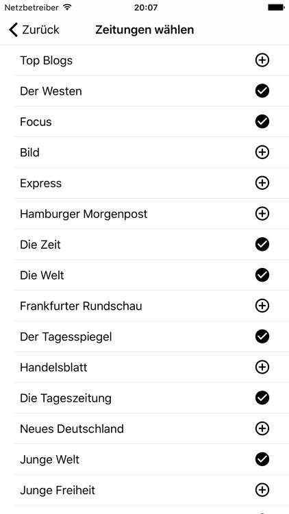 Deutsche Zeitungen - Nachricht screenshot-3
