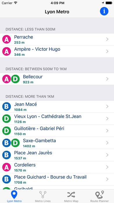 Lyon Metro screenshot one