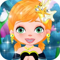 Princess repair the teeth - games for kids