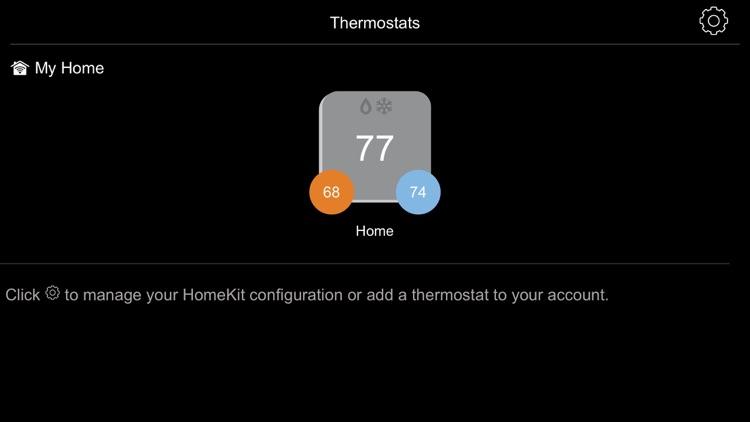 Carrier® Côr™ Thermostat screenshot-4