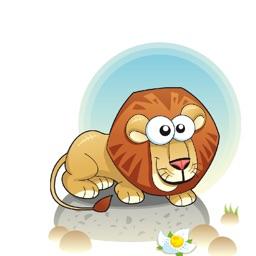 Wild Animals Sticker Collection
