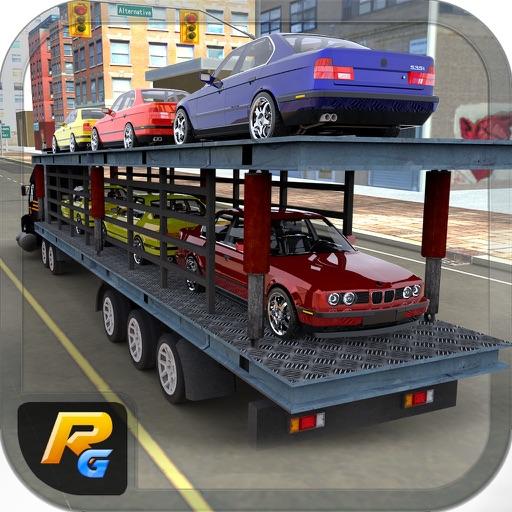 Car Transporter Euro Truck Sim- Cargo Ship Service by