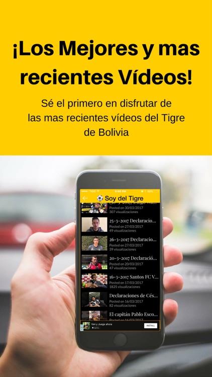 Soy del Tigre - The Strongest - Bolivia Futbol
