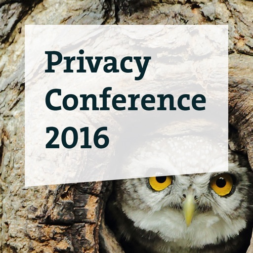 Privacy Conference 2016