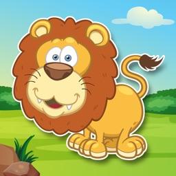 """""""Zvířata"""" aktivity s nálepkami - hra pro děti"""