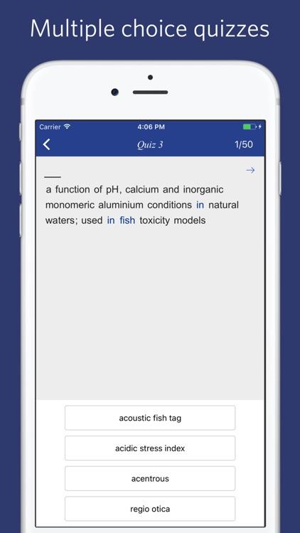 Ichthyology Dictionary screenshot-3
