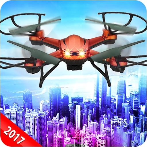 Futuristic Fire Fighting Drone