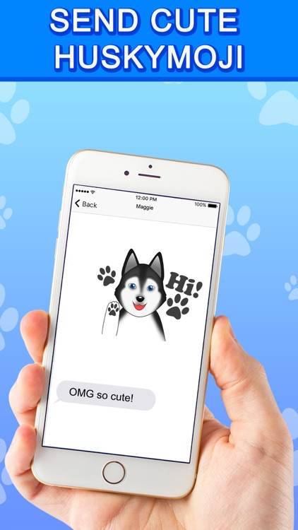 HuskyMoji - Stickers & Keyboard for Husky Dogs