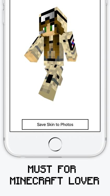 Military Skins for Minecraft PE & PC screenshot-3