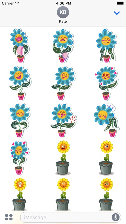Flower Power Emoji screenshot-1