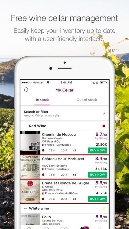 The n°1 Wine App - Wine Advisor