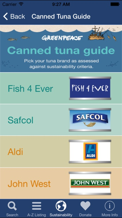 Sustainable Seafood Guide screenshot-3