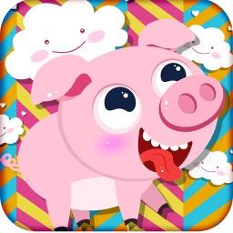 三只小猪快乐的一天
