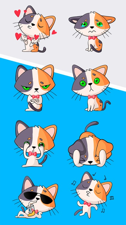 Egor The Cat Stickers Pack 1