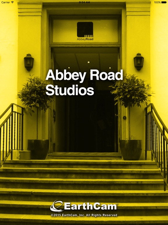 Abbey Road Studios Cam iPad