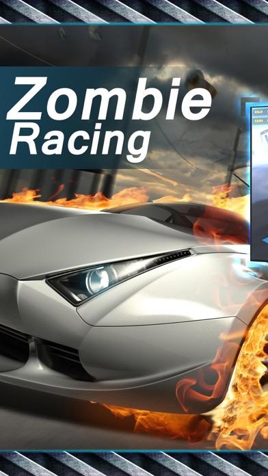 赛车·终极僵尸飞车:最新丧尸跑车单机免费游戏 App 截图