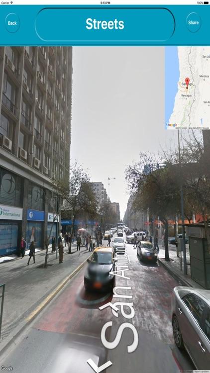 Santiago Chile Offline City Maps with Navigation screenshot-3