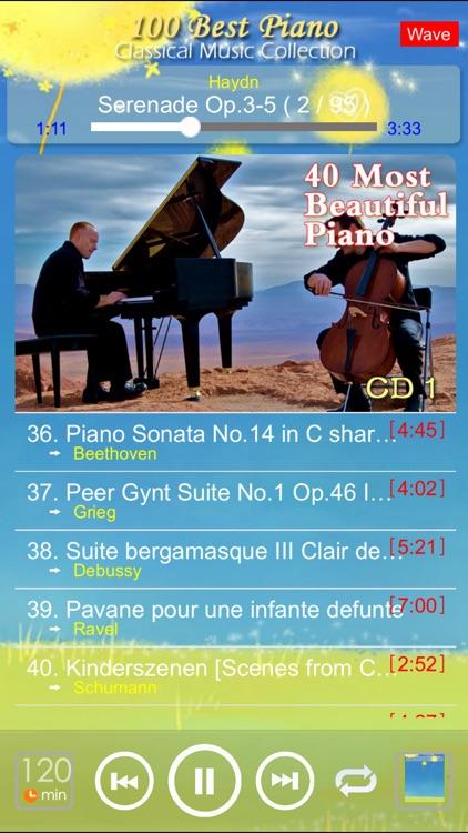 [5 CD]Classic Piano [100 Classical music] screenshot-4