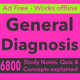 General Diagnosis Exam Prep & Test Bank App (2017)