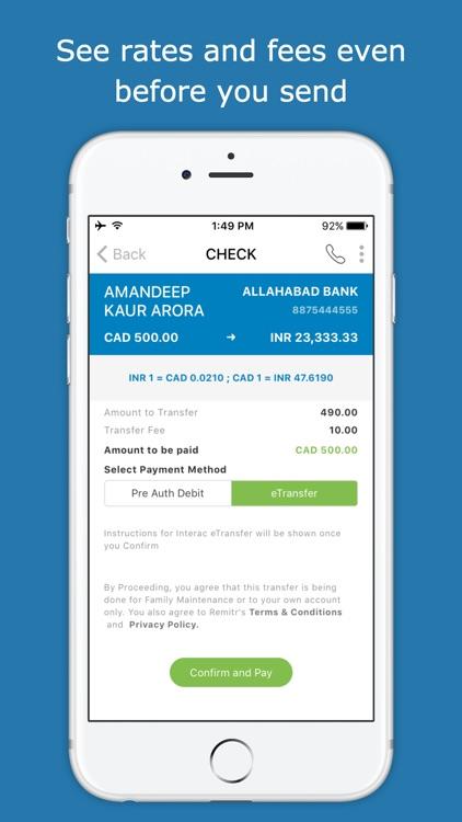 Remitr Money Transfer screenshot-3