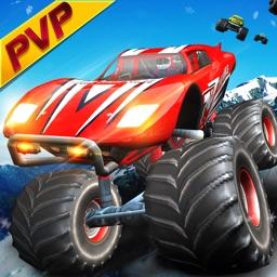 Monster Truck Racing: Online Multiplayer Car Race