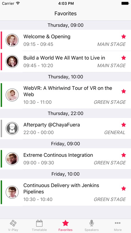 WeAreDevelopers 2017 - Conference App by V-Play screenshot-2