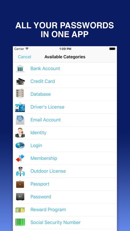 Password Lock to Login with Fingerprint Passcode screenshot-3