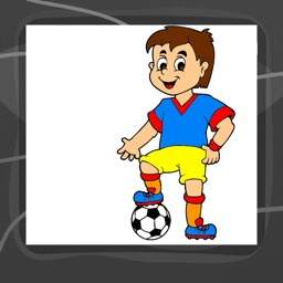 Football Coloring Book App