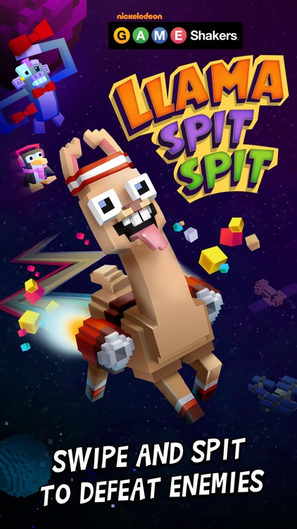 Llama Spit Spit - a GAME SHAKERS App screenshot-4