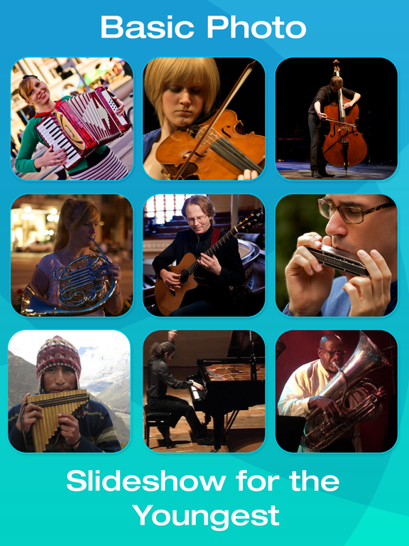 Musical Instrument Picture Flashcards for Babies, Toddlers or Preschool (Free) screenshot