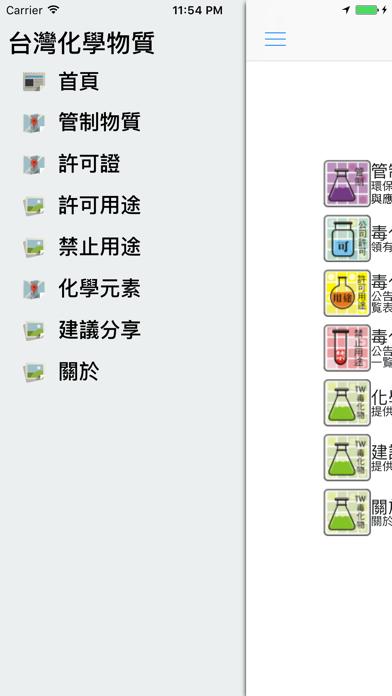 点击获取台灣化學物質