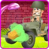 Kids Car Washing Game: Army Cars