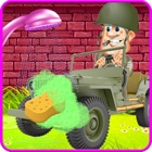 子供の洗車ゲーム:陸軍の車 icon