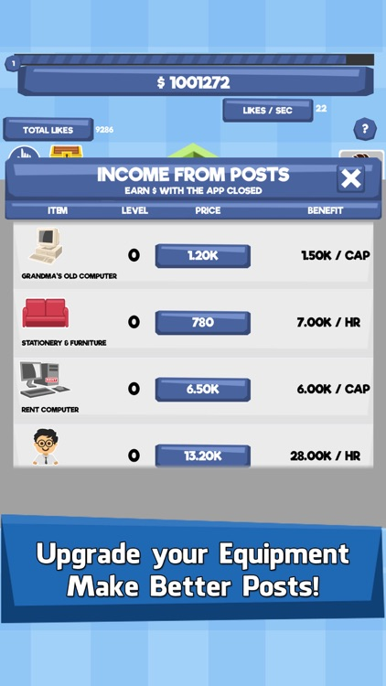 Social Tycoon - Idle Fun Clicker & Money Tap Games screenshot-3