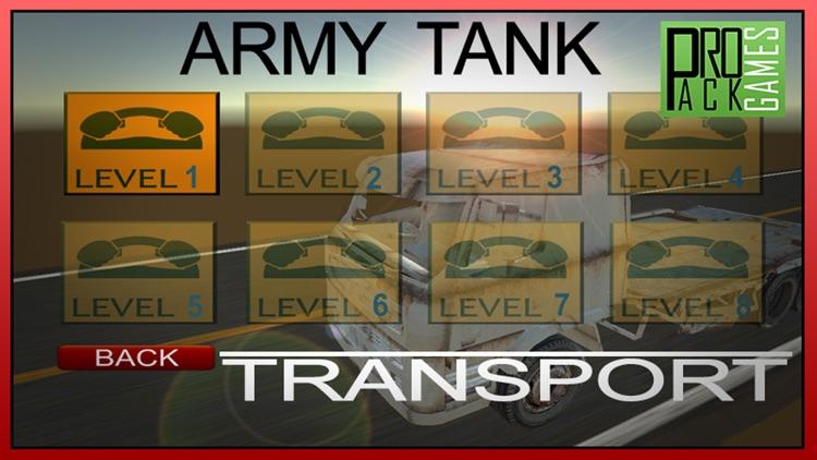 Army Tank Transport – Real Truck Driver Simulator screenshot-3