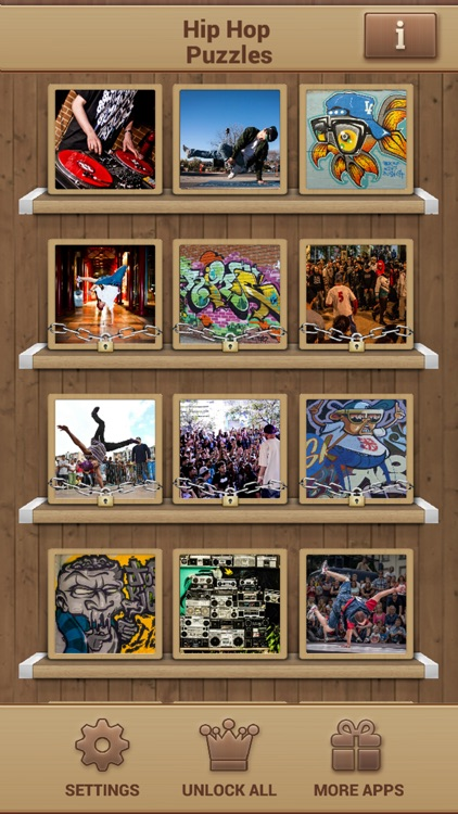 Hip Hop Puzzles screenshot-1